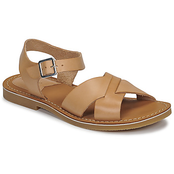 Zapatos Mujer Sandalias Kickers TILLY Beige