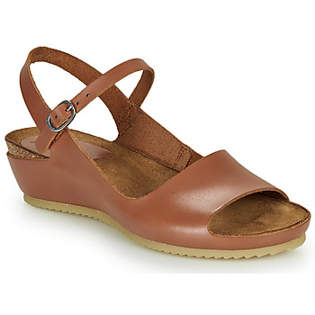 Zapatos Mujer Sandalias Kickers TAKIKA Marrón