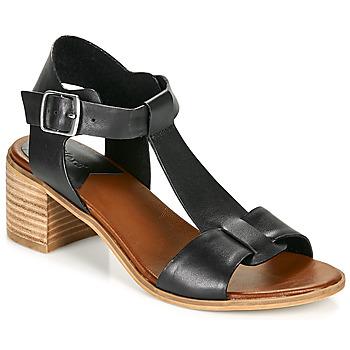 Zapatos Mujer Sandalias Kickers VALMONS Negro