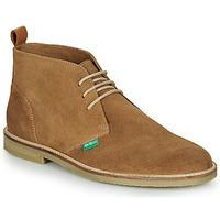 Zapatos Hombre Botas de caña baja Kickers TYL Beige