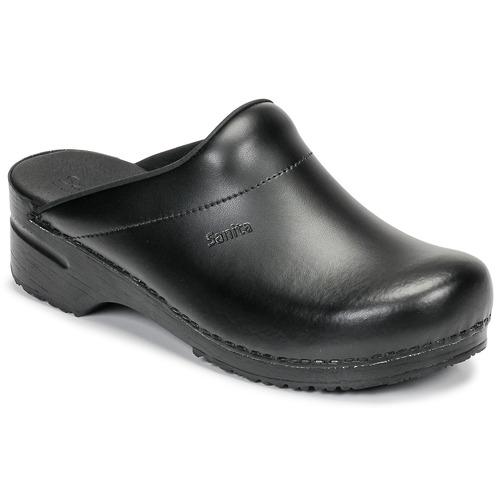 Sanita KARL OPEN Negro - Envío gratis | ! - Zapatos Zuecos (Clogs) Hombre