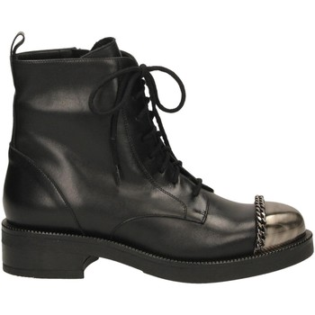 Zapatos Mujer Botas de caña baja Albano VITELLO nero