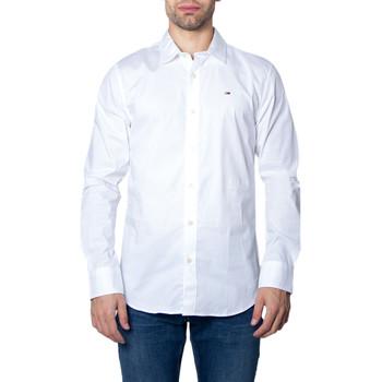textil Hombre Camisas manga larga Tommy Hilfiger DM0DM04405 Bianco