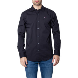 textil Hombre Camisas manga larga Tommy Hilfiger DM0DM04405 Nero