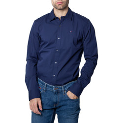 textil Hombre Camisas manga larga Tommy Hilfiger DM0DM04405 Blu