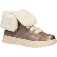 Zapatos Niña Botas de nieve Geox J947YB 0MA22 J DISCOMIX Beige