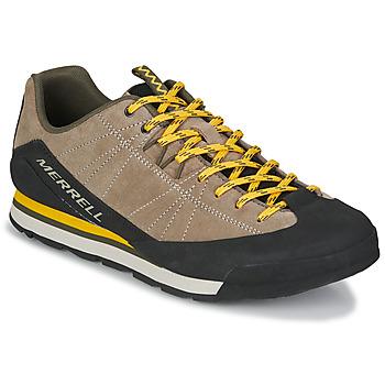 Zapatos Hombre Zapatillas bajas Merrell CATALYST SUEDE Beige / Negro