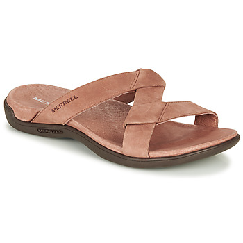 Zapatos Mujer Zuecos (Mules) Merrell DISTRICT KANOYA SLIDE Camel