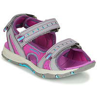 Zapatos Niña Sandalias de deporte Merrell PANTHER SANDAL 2.0 Rosa / Gris