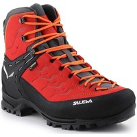 Zapatos Hombre Senderismo Salewa MS Rapace Gtx Negros, Rojos