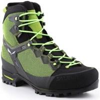Zapatos Hombre Senderismo Salewa MS Raven 3 Gtx Negros, Verdes