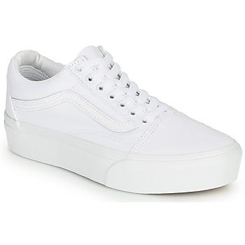 Zapatos Mujer Zapatillas bajas Vans OLD SKOOL PLATFORM Blanco