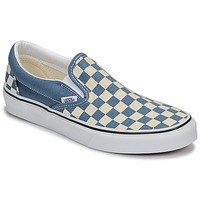 Zapatos Slip on Vans CLASSIC SLIP-ON Azul / Blanco
