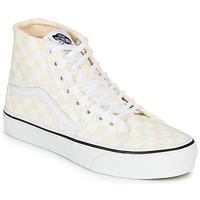Zapatos Mujer Zapatillas altas Vans SK8-HI TAPERED Rosa / Blanco