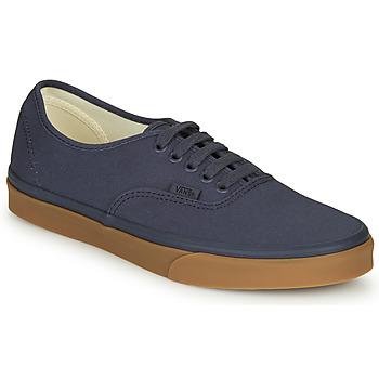 Zapatos Hombre Zapatillas bajas Vans AUTHENTIC Marino
