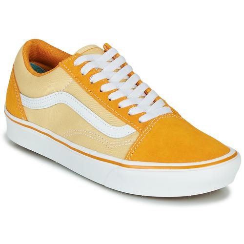 Zapatos Mujer Zapatillas bajas Vans COMFYCUSH OLD SKOOL Amarillo