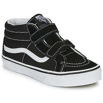 Zapatos Niños Zapatillas altas Vans SK8-MID REISSUE V Negro / Blanco