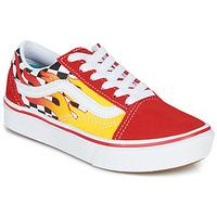 Zapatos Niño Zapatillas bajas Vans COMFYCUSH OLD SKOOL Rojo / Amarillo