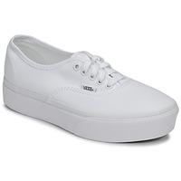 Zapatos Mujer Zapatillas bajas Vans AUTHENTIC PLATFORM 2.0 Blanco