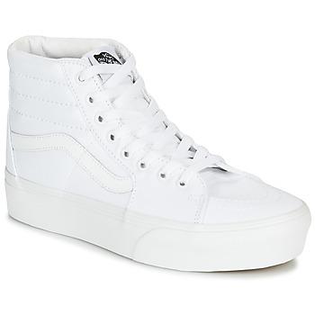 Zapatos Mujer Zapatillas altas Vans SK8-HI PLATFORM 2.0 Blanco