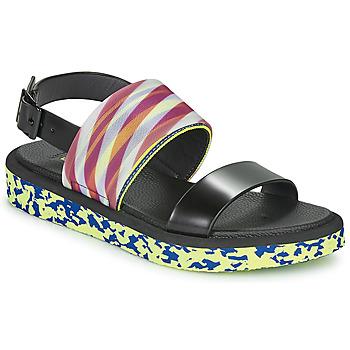 Zapatos Mujer Sandalias United nude OP SANDAL LO Negro / Amarillo