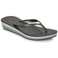 Zapatos Mujer Chanclas Havaianas HIGH LIGHT Negro / Gris