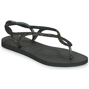 Zapatos Mujer Chanclas Havaianas LUNA PREMIUM Negro