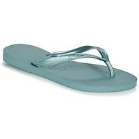 Zapatos Mujer Chanclas Havaianas SLIM Azul