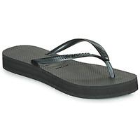 Zapatos Mujer Chanclas Havaianas SLIM FLATFORM Negro