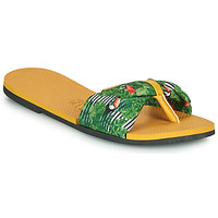 Zapatos Mujer Chanclas Havaianas YOU SAINT TROPEZ Amarillo / Verde