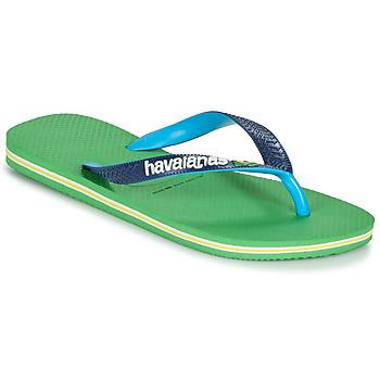 Zapatos Chanclas Havaianas BRASIL MIX Verde / Azul