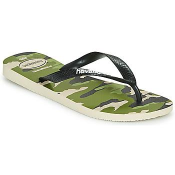 Zapatos Hombre Chanclas Havaianas TOP CAMU Verde
