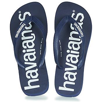 Zapatos Chanclas Havaianas TOP LOGOMANIA Navy / Azul