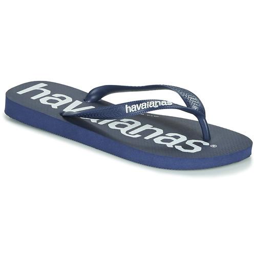 Zapatos Hombre Chanclas Havaianas TOP LOGOMANIA Navy / Azul