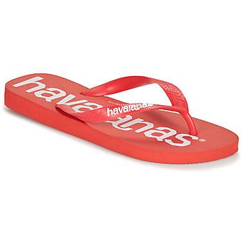 Zapatos Hombre Chanclas Havaianas TOP LOGOMANIA Rojo