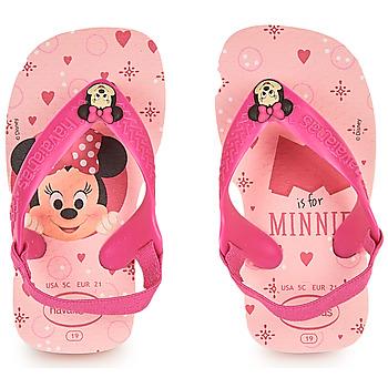 Zapatos Niña Chanclas Havaianas BABY DISNEY CLASSICS II Rosa