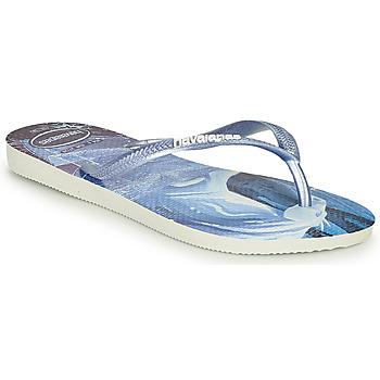 Zapatos Niña Chanclas Havaianas KIDS SLIM FROZEN Azul