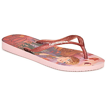 Zapatos Niña Chanclas Havaianas KIDS SLIM FROZEN Rosa