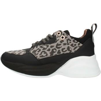 Zapatos Mujer Zapatillas bajas Alexander Smith S73696 Gris y negro