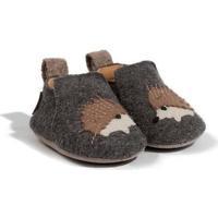 Zapatos Niños Pantuflas Haflinger 65308004 Grigio