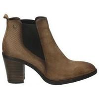 Zapatos Mujer Botines Hangar Shoes Botines  8062 moda joven marron Marron