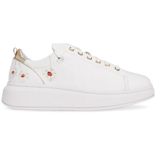 Zapatos Mujer Ted Zapatillas Ailbe Bajas Baker Tbw Blanco m0N8nw