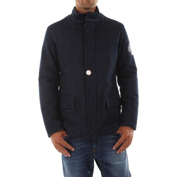 textil Hombre cazadoras Parkoat P002M DENIM JACKET DENIM DARK BLUE