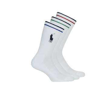 Accesorios Hombre Calcetines Polo Ralph Lauren 3PK BPP-SOCKS-3 PACK Blanco