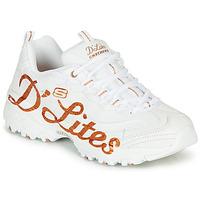 Zapatos Mujer Zapatillas bajas Skechers D'LITES Blanco