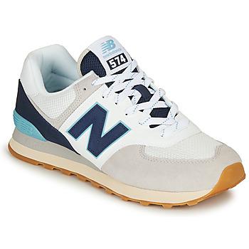 Zapatos Hombre Zapatillas bajas New Balance 574 Gris / Navy