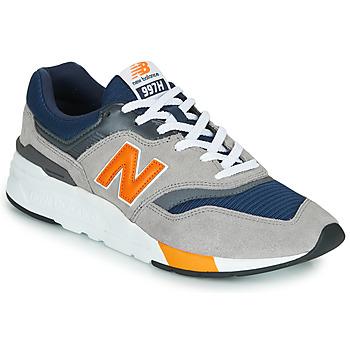 Zapatos Hombre Zapatillas bajas New Balance CM997HEX Navy / Gris / Naranja