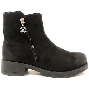 Zapatos Mujer Botas de caña baja Chattawak Botine 8-Vamp Noir Negro