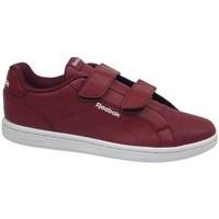 Zapatos Niños Zapatillas bajas Reebok Sport Royal Complete Cln Rojo burdeos