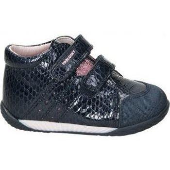Zapatos Niños Zapatillas altas Pablosky Zapatos  061428 niña azul bleu